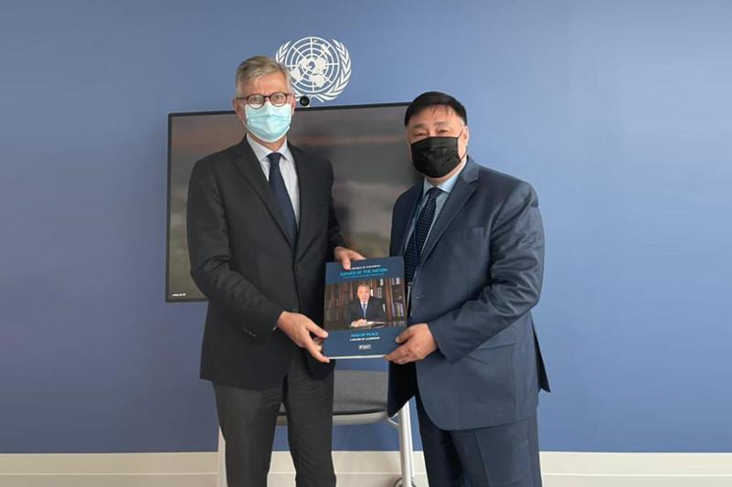 Расширение участия Казахстана в миссиях ООНобсудили в Нью-Йорке
