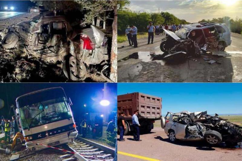 176 человек погибло в результате ДТП с начала года в Алматинской области