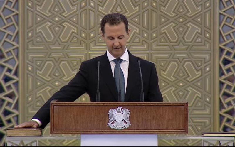 Башар Асад принес присягу президента