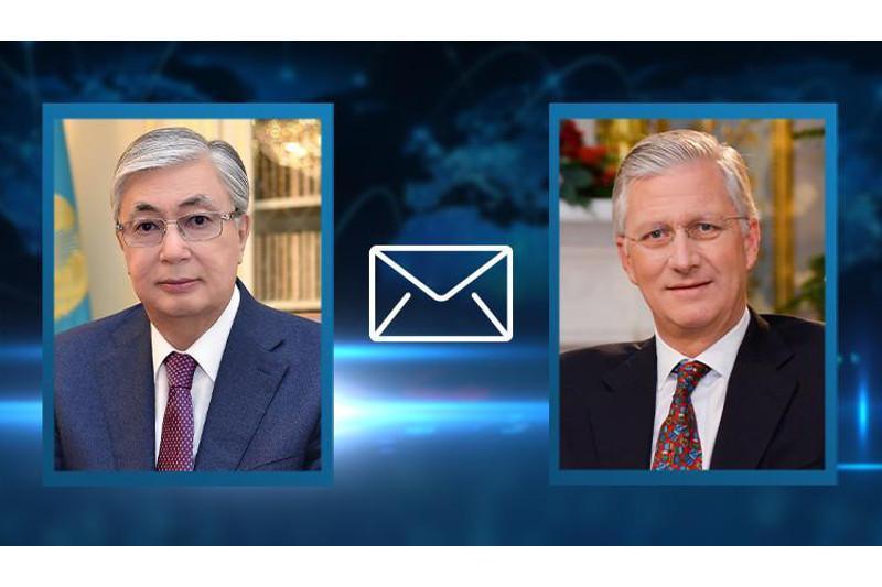 Kazakh President sends telegram of condolences to King of Belgium