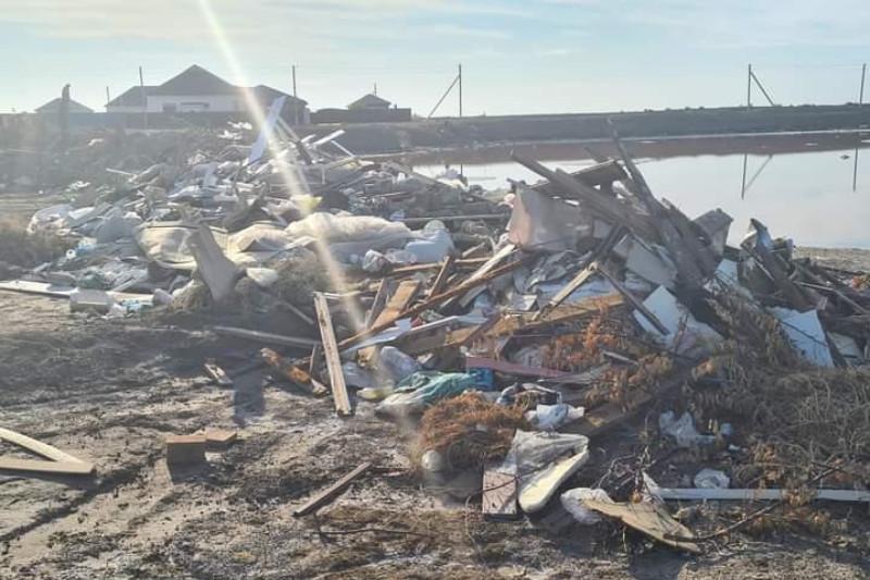 Атырау облысында заңсыз 130 қоқыс үйіндісі ғарыштан мониторингілеу барысында анықталды