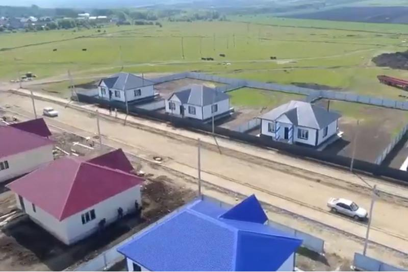 12 пострадавших от пожара в Риддере семей получили ключи от новых домов