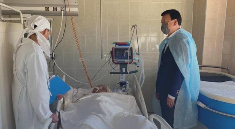 Алексей Цой посетил пострадавших при обрушении общежития осужденных