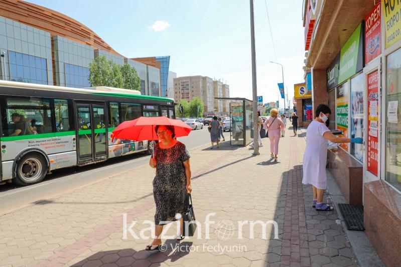 Сколько регионов Казахстана в «красной» зоне
