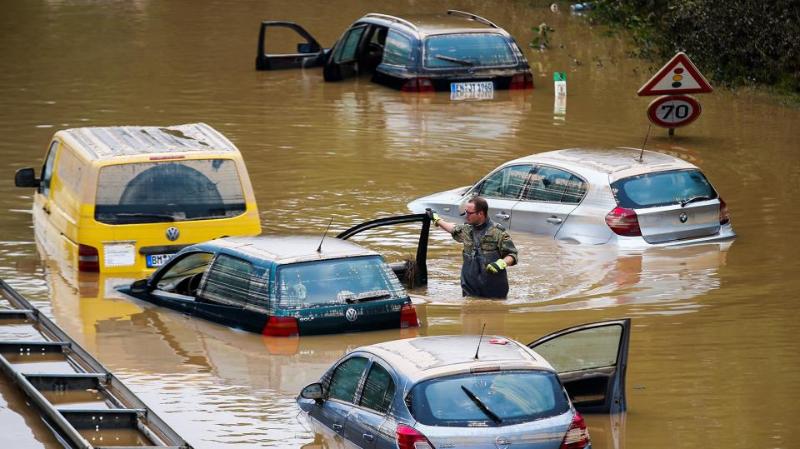 外媒:德国洪灾死亡人数增至171人