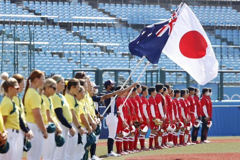 东京奥运会首场比赛在福岛开赛 东道主获胜