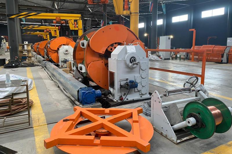 Как в Алматы работает завод по производству кабельной продукции