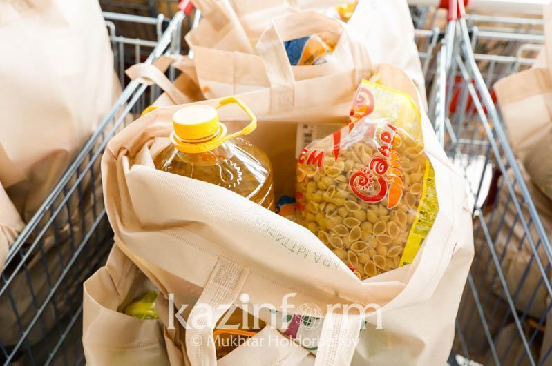 Свыше 10 тысяч продуктовых корзин раздали нуждающимся в столице