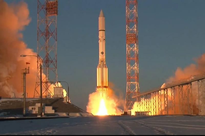 С космодрома Байконур к МКС запущен лабораторный модуль «Наука»