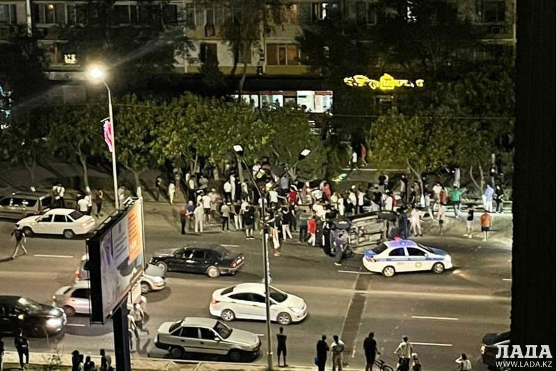 Мужчина погиб при столкновении автомобилейв Актау