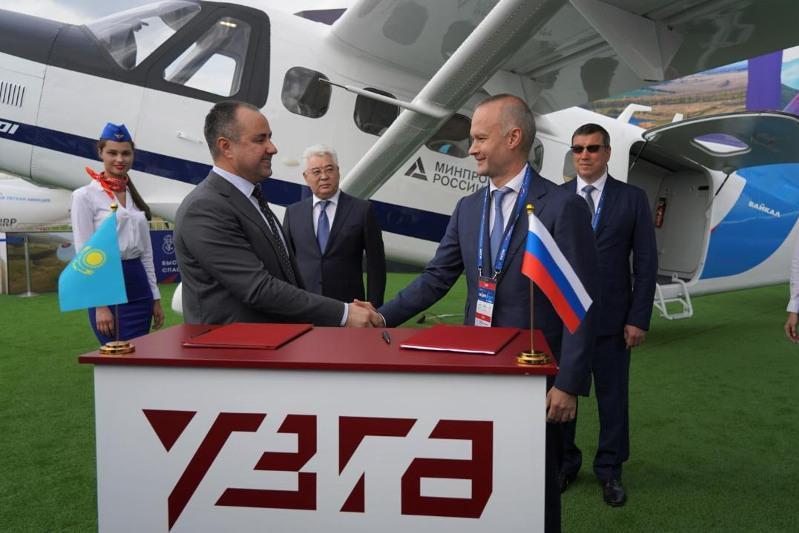 哈萨克斯坦与俄罗斯将联合生产新型飞机