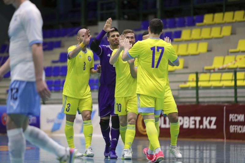 Назван расширенный состав команды Казахстана по футзалу на ЧМ-2021