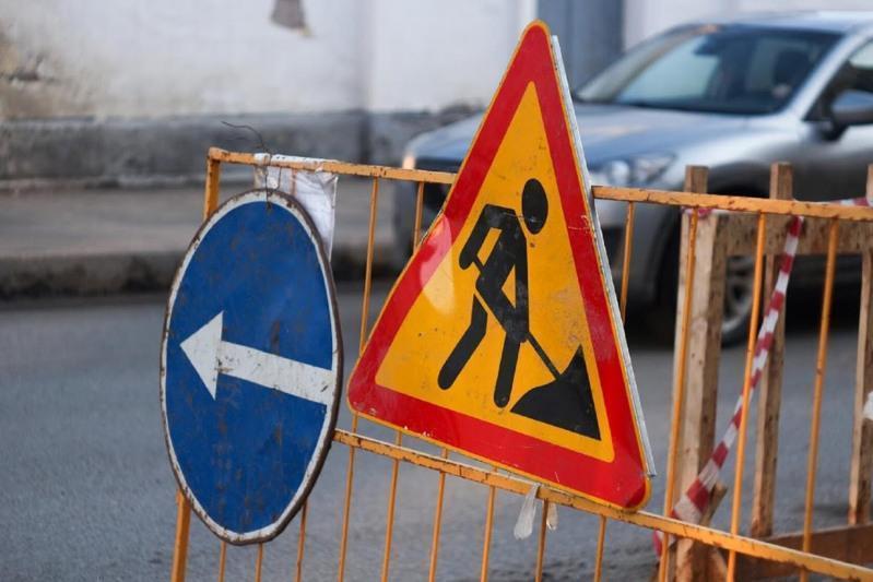 Участок улицы Иманова временно перекрыт в Нур-Султане