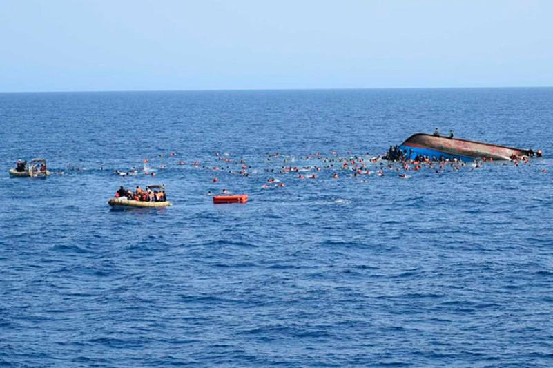 Тунис жағалауында кеме апатқа ұшырап, 17 адам суға кетті