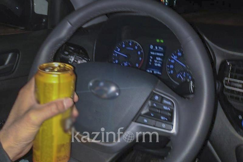 12 пьяных водителей задержали за три дня в столице