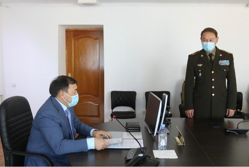 Назначен новый начальник ДЧС Атырауской области