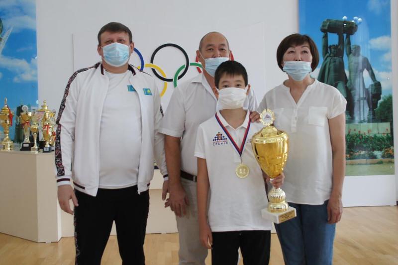 Юный карагандинский шахматист занял первое место на международном турнире