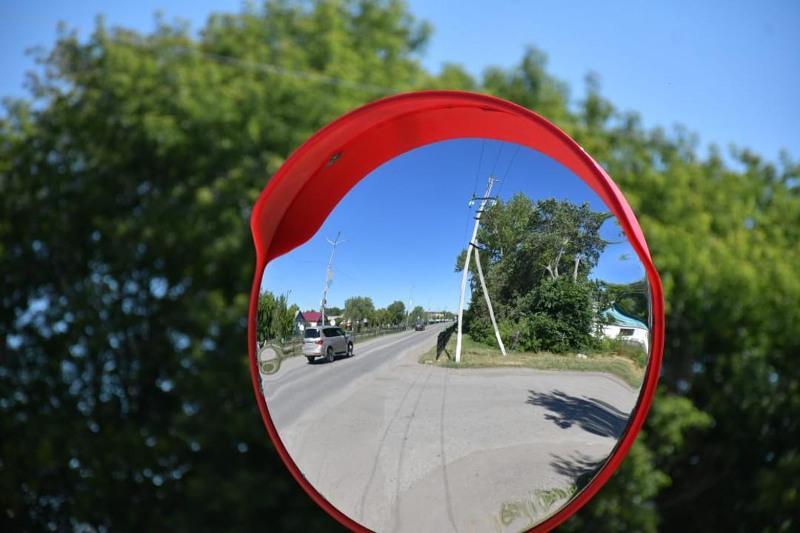 Сферические зеркала устанавливают в посёлке Осакаровка Карагандинской области