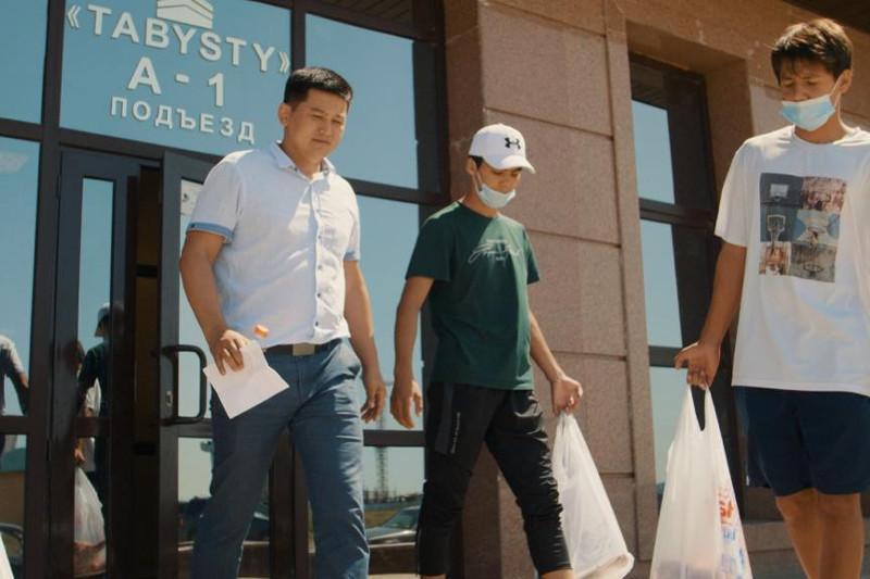 Столичные спортсмены приняли участие в благотворительной акции в Курбан айт