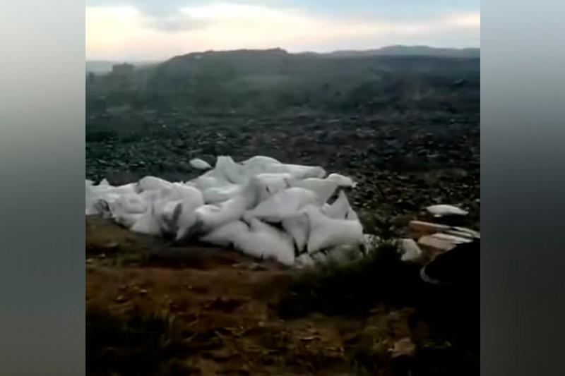 Мешки с взрывчатым веществом нашли на дороге жители ВКО