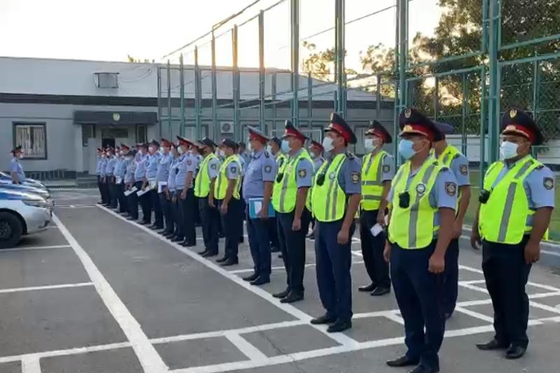 16 преступлений раскрыли полицейские Туркестанской области за неделю