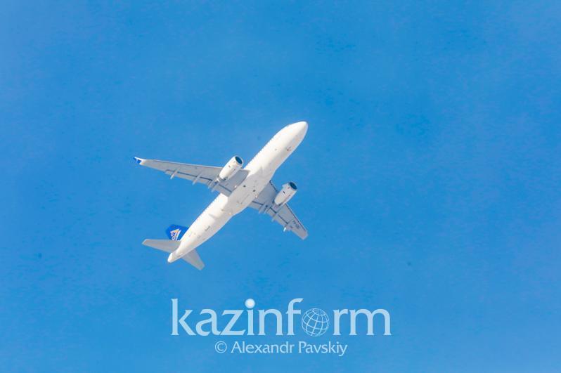 每周有184班国际航班自哈萨克斯坦飞往16个国家