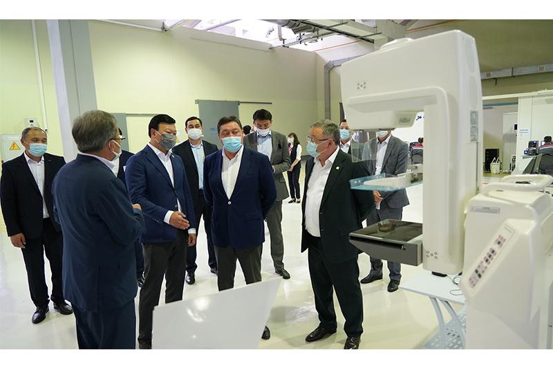 Премьер-Министр РК посетил с рабочей поездкой Актюбинскую область