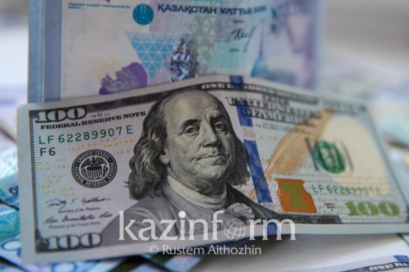 Доллар вновь подешевел на торгах KASE