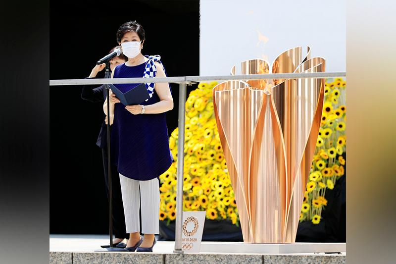 Last leg of Tokyo Olympic torch relay ends before opening ceremony