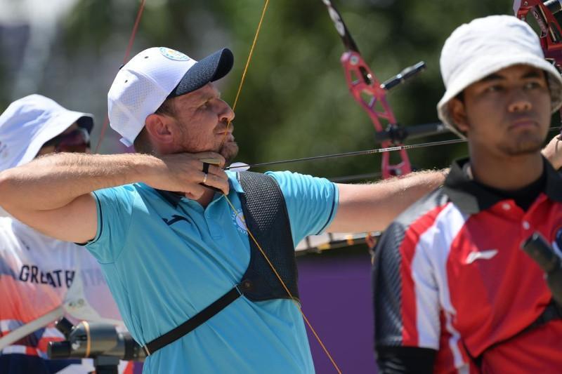 东京奥运射箭男子个人排名赛 哈萨克斯坦选手进入前十