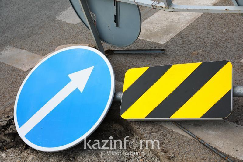 Движение ограничат на одном из перекрестков в Алматы