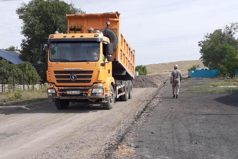 13 улиц отремонтируют в селе Акбулак Карагандинской области