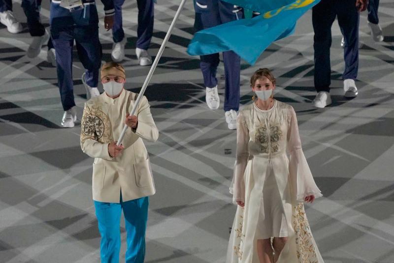 Казахстан блистал сегодня на открытии Олимпиады - Ольга Рыпакова