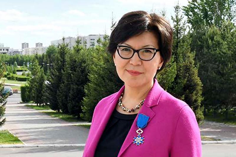 Уважаемый и высоко ценимый представитель Казахстана в Европе: Айгуль Куспан отмечает 60-летие
