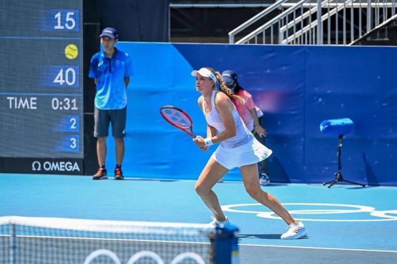 Kazakhstan's tennis player Rybakina advances at Tokyo Olympics