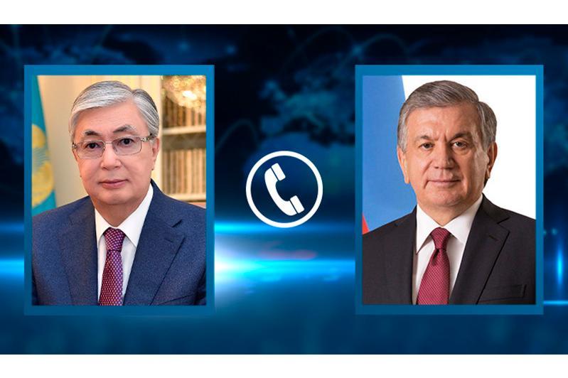 Kassym-Jomart Tokayev congratulates Shavkat Mirziyoyev on his birthday