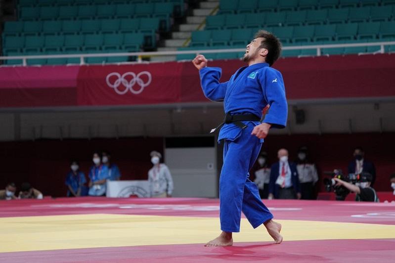 Первую для Казахстана медаль в Токио выиграл Елдос Сметов