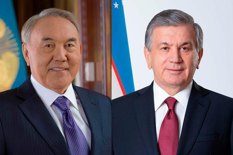 Nursultan Nazarbayev had telephone conversation with Shavkat Mirziyoyev