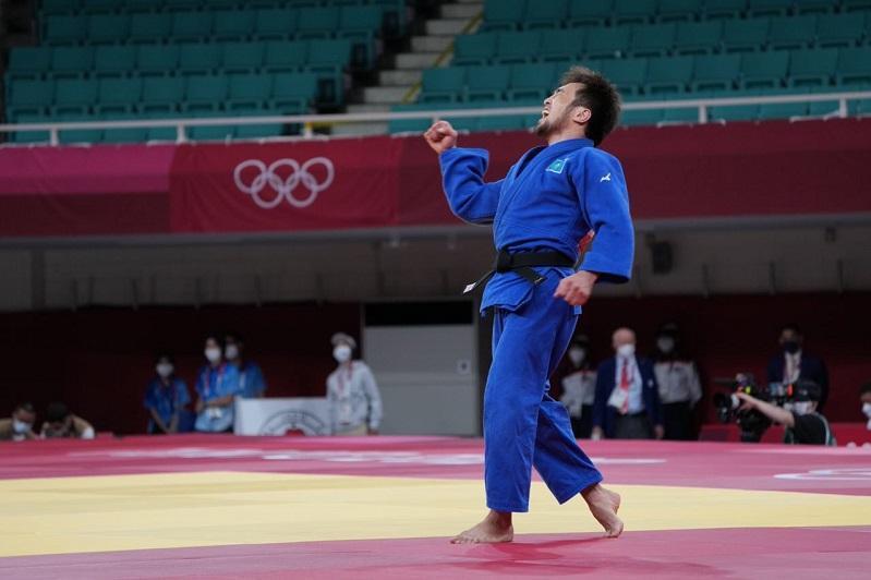 Қозоғистон Токио Олимпиадасида илк медални қўлга киритди