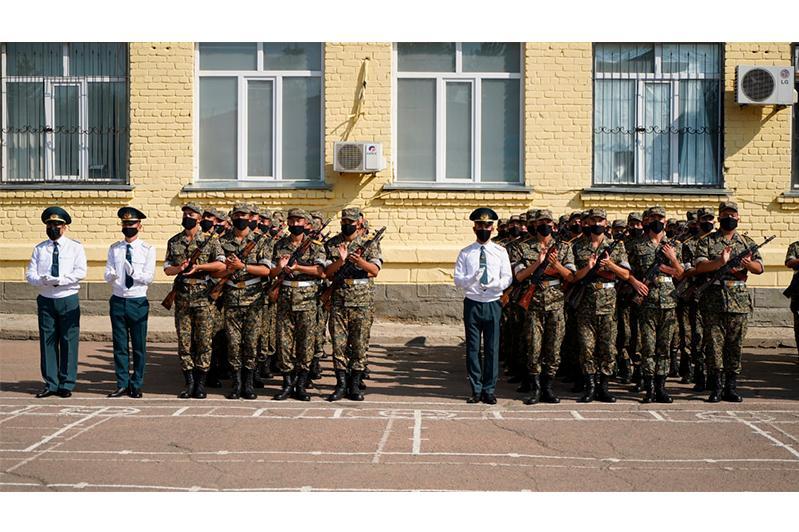 Более 200 солдат Нацгвардии РК приняли присягу в Акмолинской области