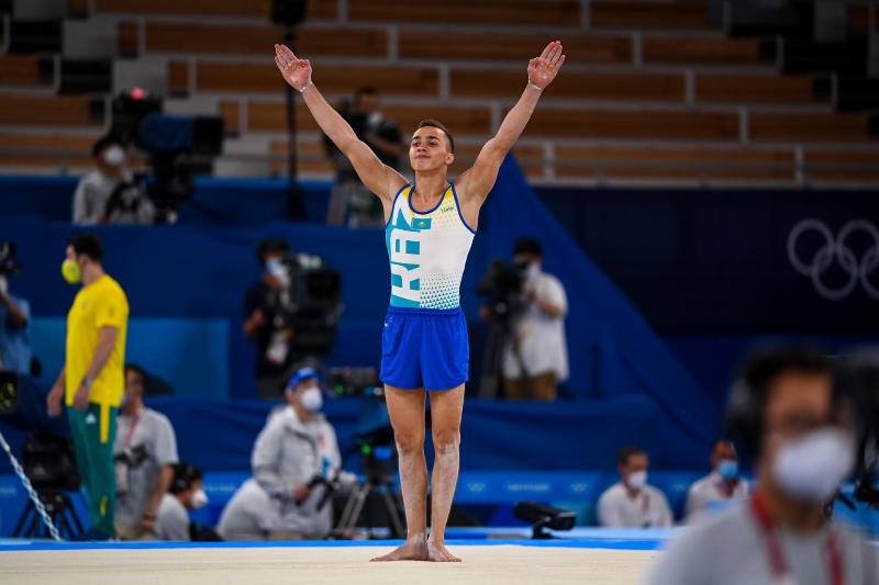 Токио-2020: Спорттық гимнастикадан қазақстандық финалда 3 медальға таласады