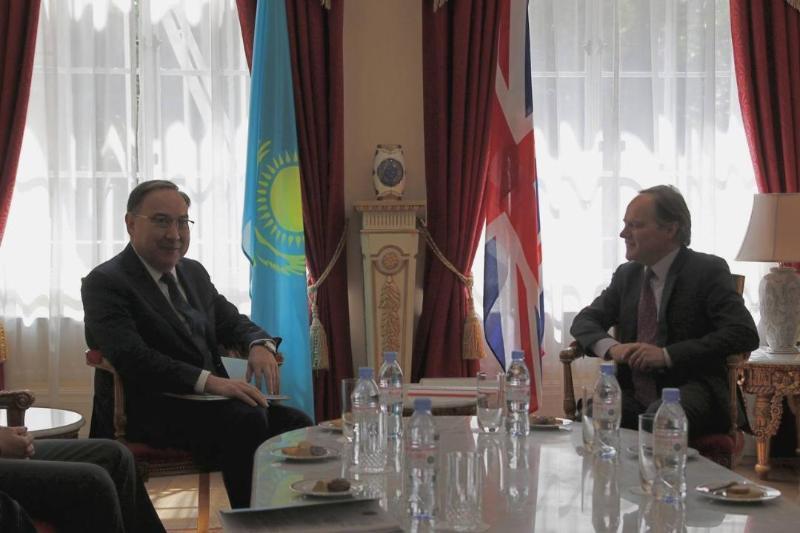 Special Representative of Kazakhstan's President visits London