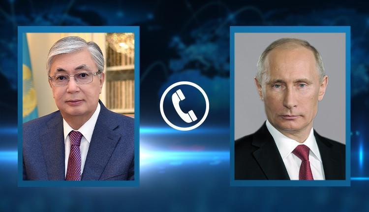 President Tokayev had telephone conversation with Vladimir Putin