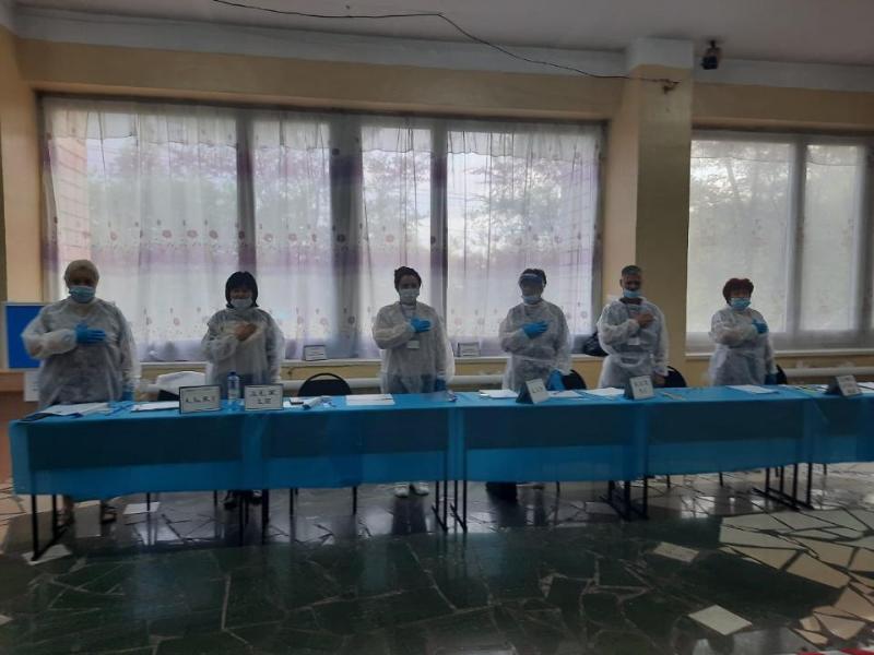 На 149 избирательных участках проходят выборы сельских акимов в Карагандинской области