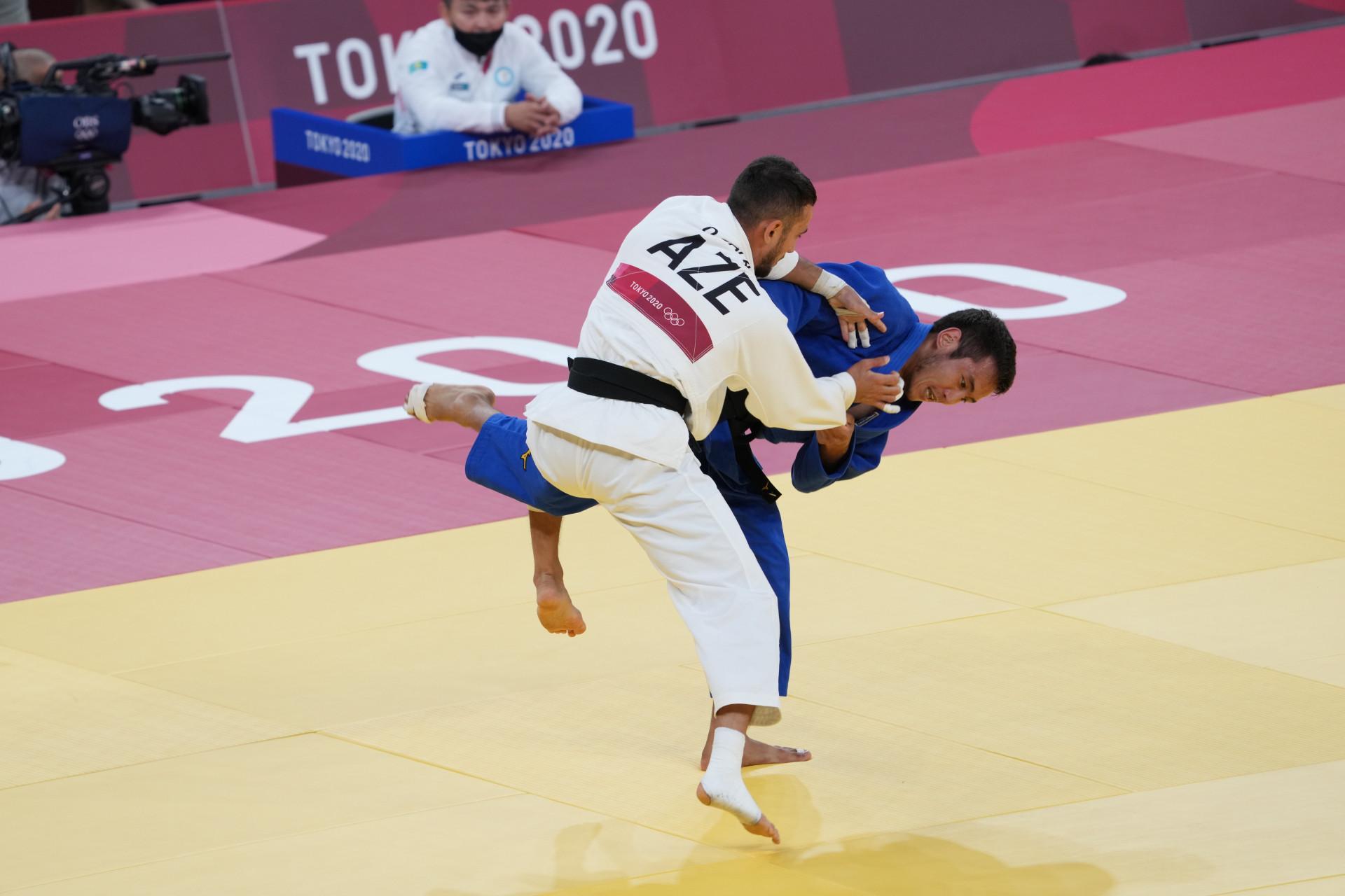 Токио Олимпиадасы: Қазақстандық дзюдошы Ерлан Серікжанов жарысты сәтті бастады