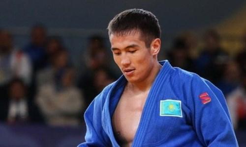 Казахстанский дзюдоист победил двукратного призера ЧМ на старте Олимпиады-2020