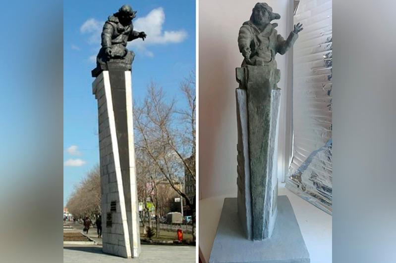 Копию памятника Нуркену Абдирову изготовили осужденные в карагандинской колонии