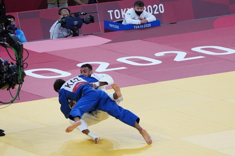 Ерлан Серікжанов Токио Олимпиадасының екінші айналымында жеңіліп қалды