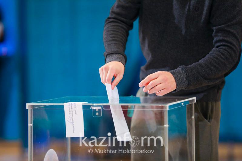 Избирательный бюллетень уже получили 9% акмолинских избирателей
