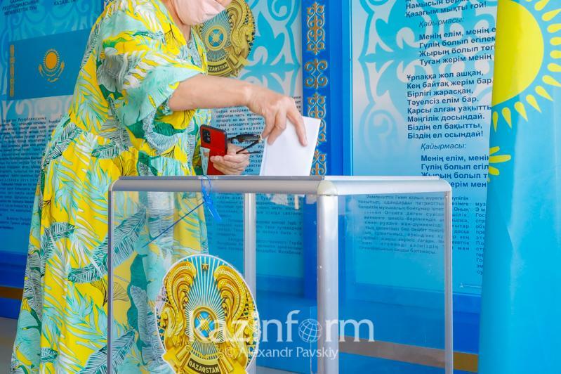 В Атырауской области бюллетени получили 29,5% избирателей